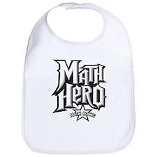 Math Hero - Math Rocks! Bib