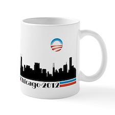 Obama 2012 Chicago Skyline Mug