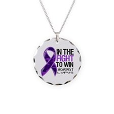 In The Fight Lupus Necklace