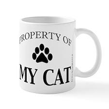 Property of My Cat with 5-Toe Mug