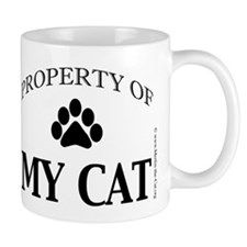 Property of My Cat with 5-Toe Small Mug