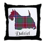 Terrier - Dalziel Throw Pillow