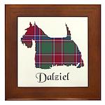 Terrier - Dalziel Framed Tile