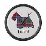 Terrier - Dalziel Large Wall Clock