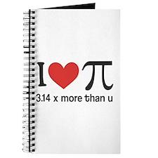 I heart pi 3.14 x more than u Journal