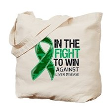In The Fight Liver Disease Tote Bag