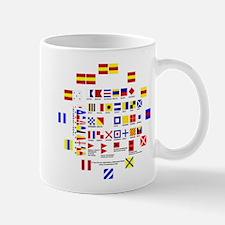 Nautical Flags Mugs