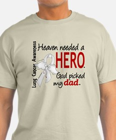 Heaven Needed a Hero Lung Cancer T-Shirt