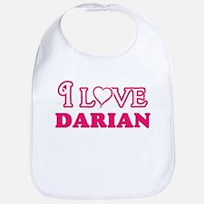 I Love Darian Baby Bib