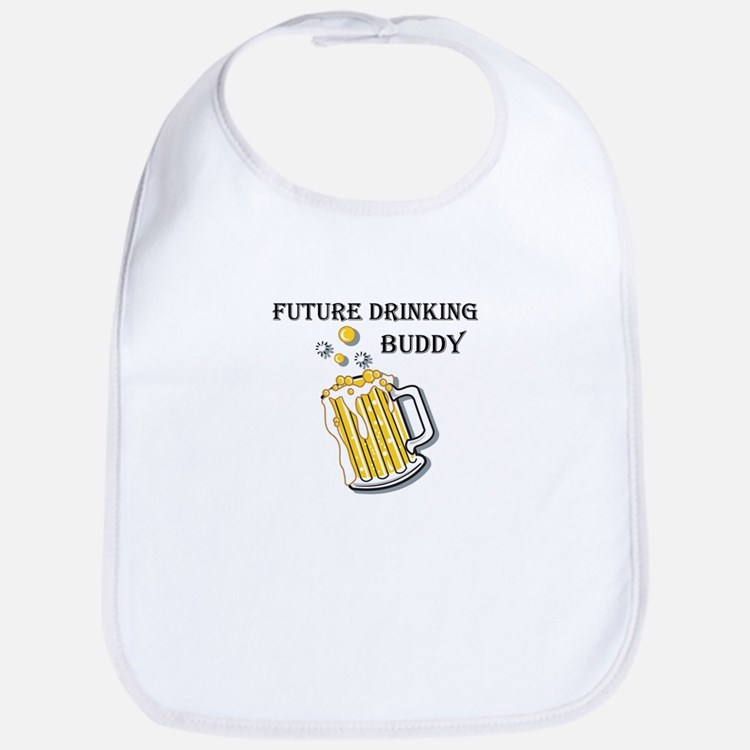 Future Drinking Buddy Bib