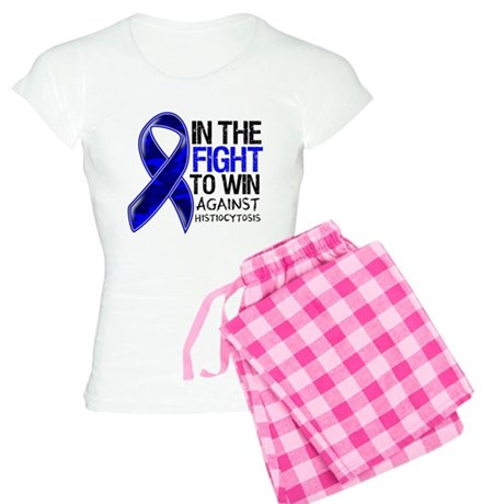 In The Fight Histiocytosis Women's Light Pajamas
