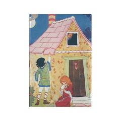 Brisley's Hansel & Gretel Rectangle Magnet (10 pac
