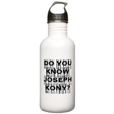 DO YOU KNOW JOSEPH KONY? Water Bottle