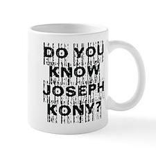 DO YOU KNOW JOSEPH KONY? Small Mug