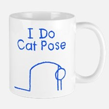 Blue Cat Pose Mug