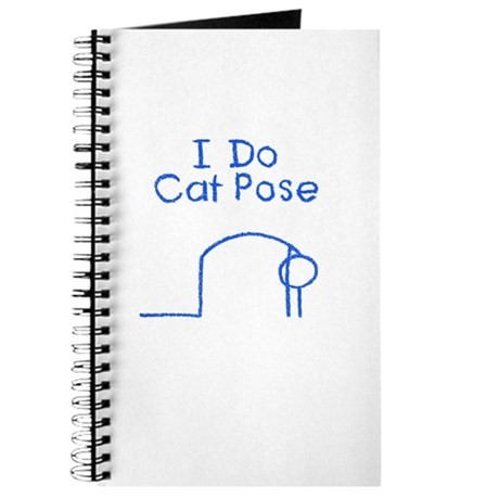 Blue Cat Pose Journal