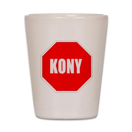 STOP KONY Shot Glass