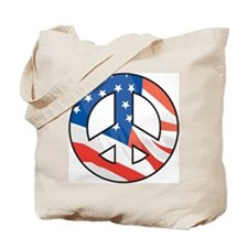 Peace In America Tote Bag