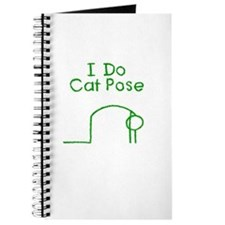 Green Cat Pose Journal