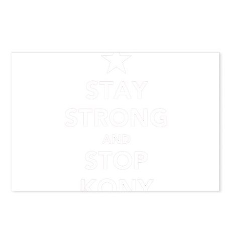 STAY STRONG AND STOP KONY Postcards (Package of 8)
