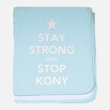 STAY STRONG AND STOP KONY baby blanket