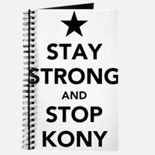 STAY STRONG AND STOP KONY Journal