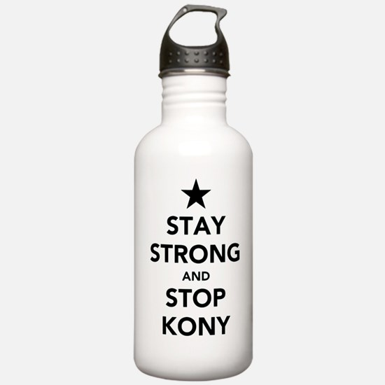 STAY STRONG AND STOP KONY Water Bottle