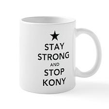 STAY STRONG AND STOP KONY Small Mug