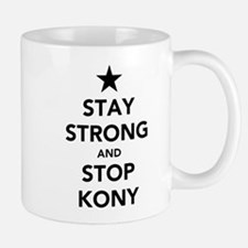 STAY STRONG AND STOP KONY Small Small Mug