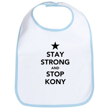 STAY STRONG AND STOP KONY Bib