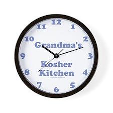 """Merlin """"Grandma"""" Wall Clock"""