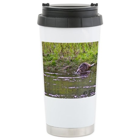 Stainless Steel Travel Mug Photo Beaver 8