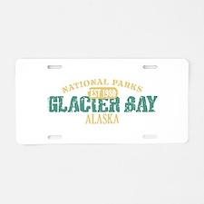 Glacier Bay National Park AK Aluminum License Plat
