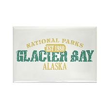 Glacier Bay National Park AK Rectangle Magnet