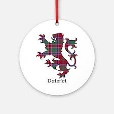 Lion - Dalziel Ornament (Round)