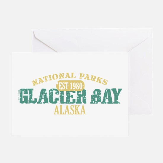 Glacier Bay National Park AK Greeting Card