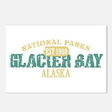 Glacier Bay National Park AK Postcards (Package of