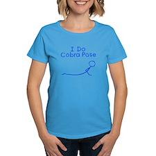 Blue Cobra Pose Tee