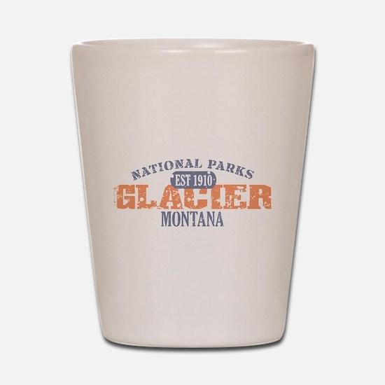 Glacier National Park Montana Shot Glass