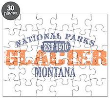 Glacier National Park Montana Puzzle
