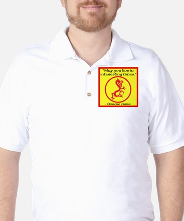 Chinese Curse Golf Shirt