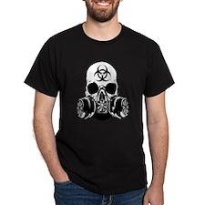 Biohazard Zombie Skull T-Shirt
