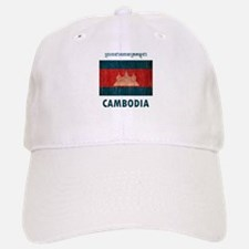 Vintage Cambodia Baseball Baseball Cap