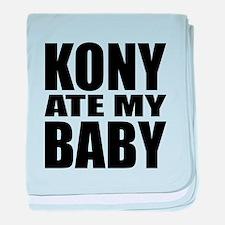 Kony Ate My Baby baby blanket