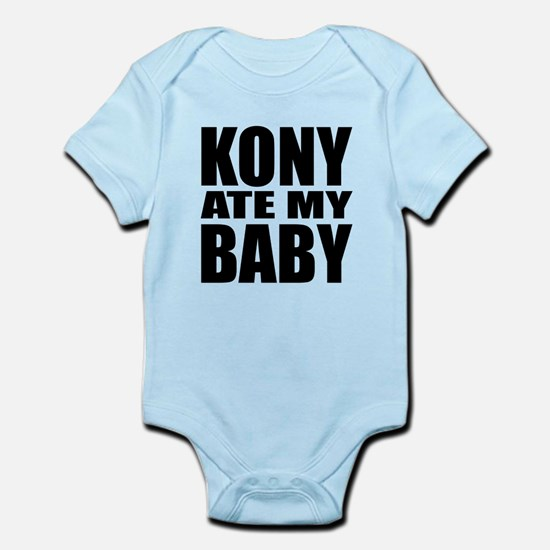Kony Ate My Baby Infant Bodysuit