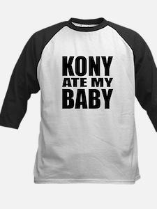 Kony Ate My Baby Kids Baseball Jersey