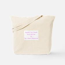 Unique Mammogram Tote Bag
