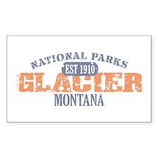 Glacier National Park Montana Decal