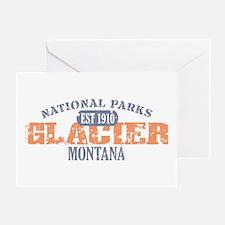 Glacier National Park Montana Greeting Card