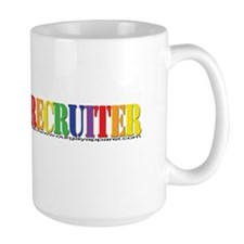 Gay Recruiter Hypnosis Mug